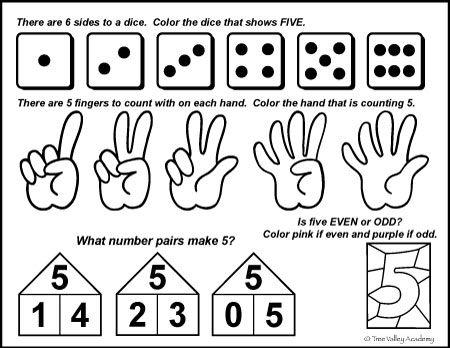 Number Bonds To 5 Free Math Worksheets Free Math Printables Number Bonds Free Math Worksheets