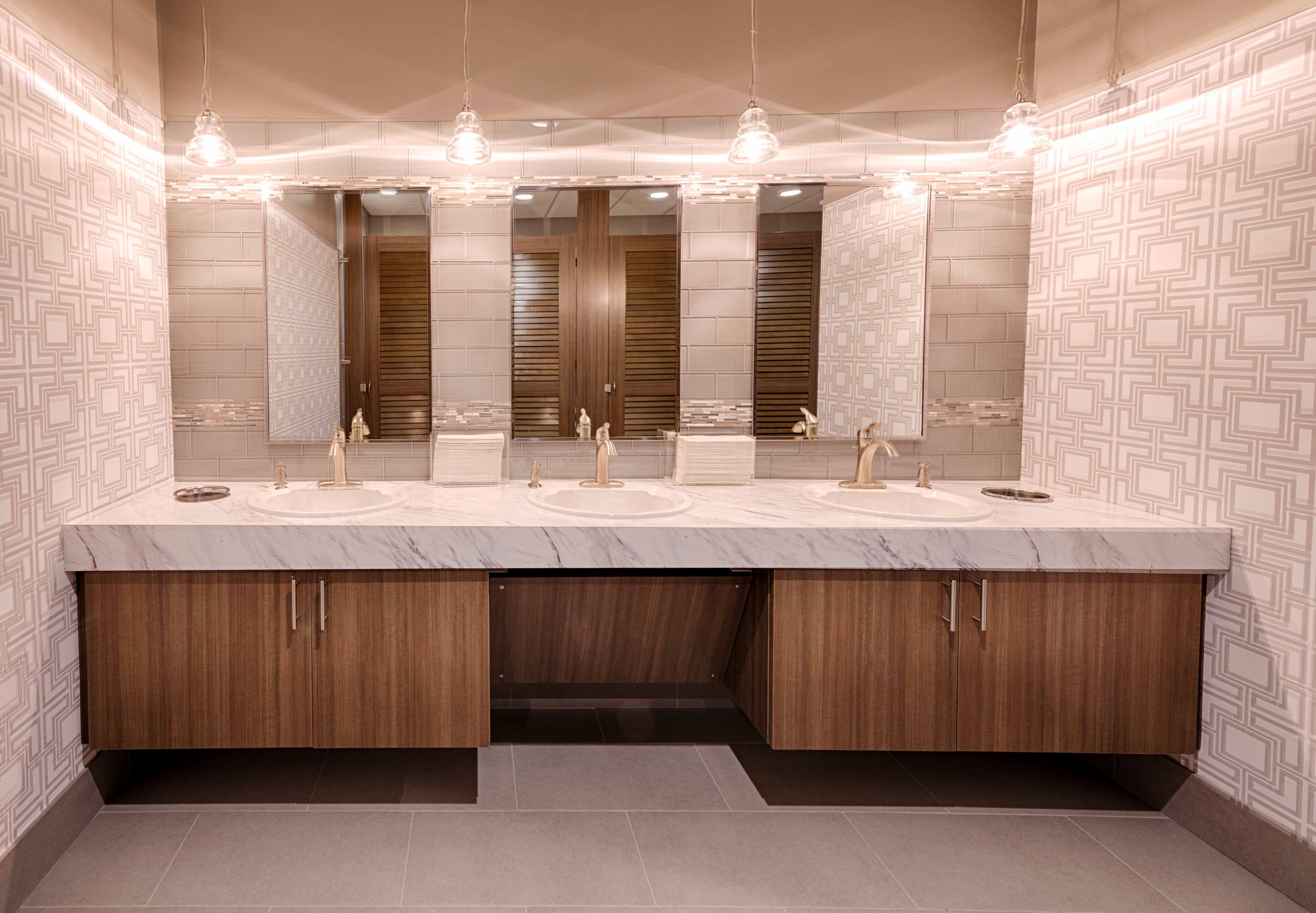 public bathroom doors. Ironwood Manufactured Toilet Partitions And Classic Louvered Bathroom Doors. Beautiful, Upscale Public Restroom Stalls Doors