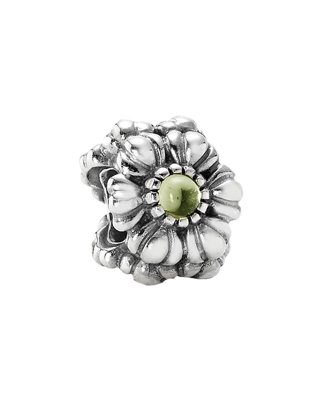 78b1d8fe9 Spotted this PANDORA Birthday Blooms August Silver Peridot Charm on Rue La  La. Shop (quickly!)