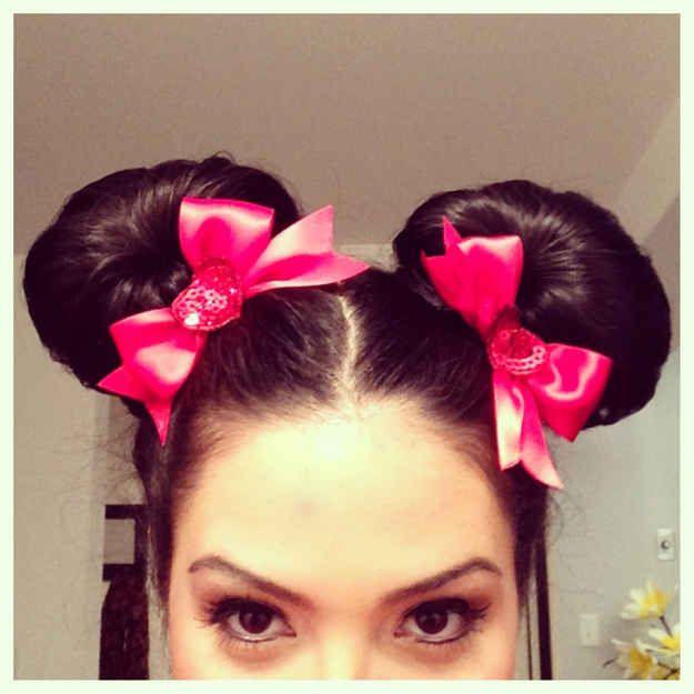 Cool Diy Hair: Halloween Hair, Minnie Mouse Halloween