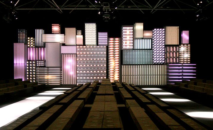 Paris Fashion Week Venue Report Wallpaper Stage Set Design Church Stage Design Stage Design
