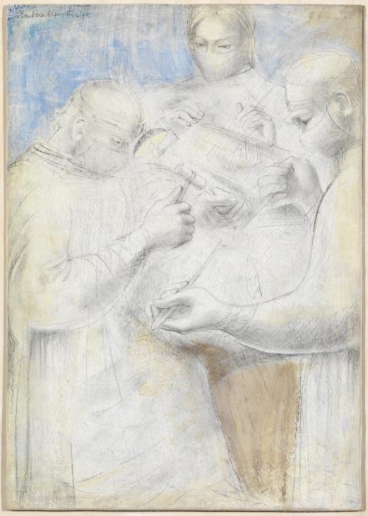 barbara hepworth hospital drawings fenestration of the ear the hammer