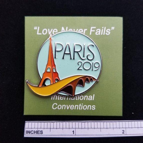 JW International Convention Pins - Paris | Products | Jw