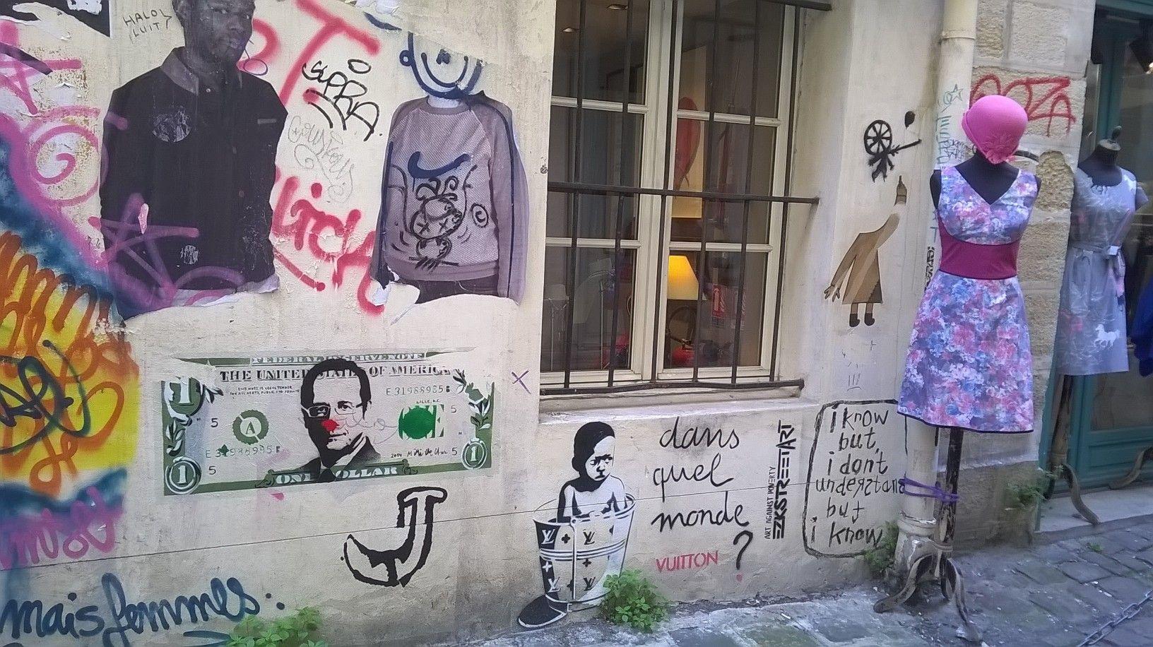 art against poverty_Parigi, Marais