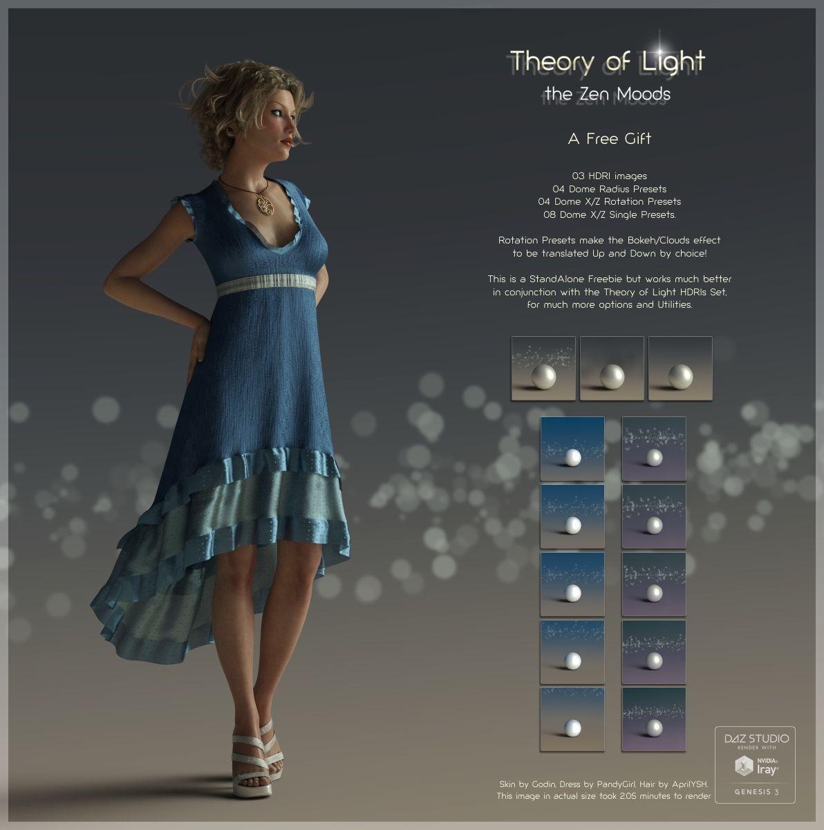 FREE HDRI images and Presets for Iray lighting, Daz Studio
