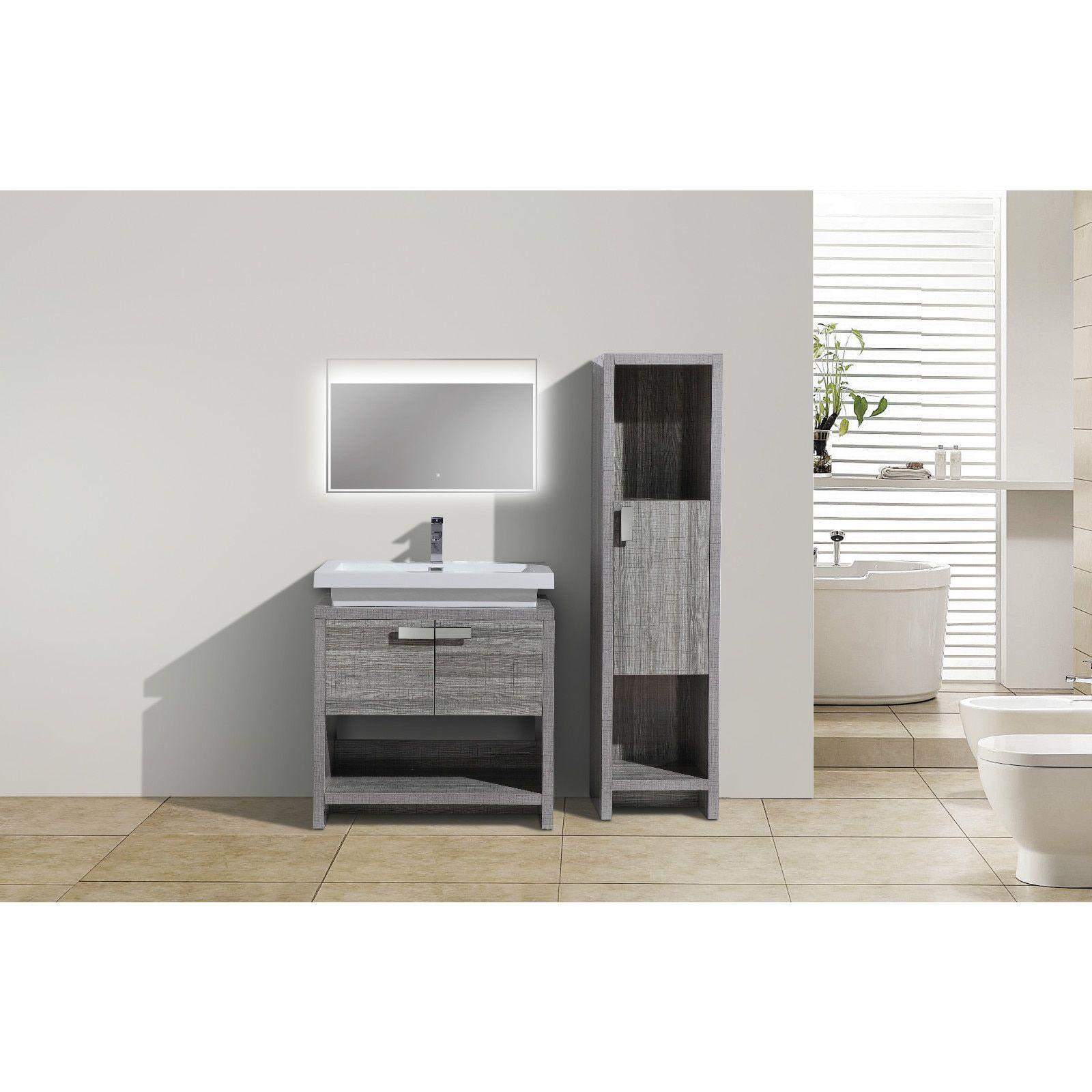 Moreno Bath Mol 32 Inch Free Standing Modern Bathroom Vanity With