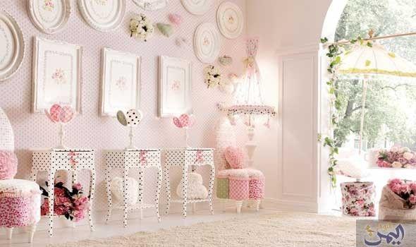 تصاميم وردية لأحلام طفولية Kids Bedroom Designs Pink Room Italian Furniture