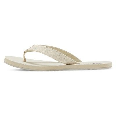 82ee2293c297 Women s Ophelia Flip Flop Sandals - Mossimo Supply Co. Light Tan 10 ...