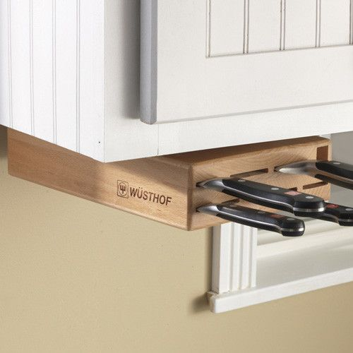 Under Cabinet Swinging Knife Holder Block Knife Storage Kitchen