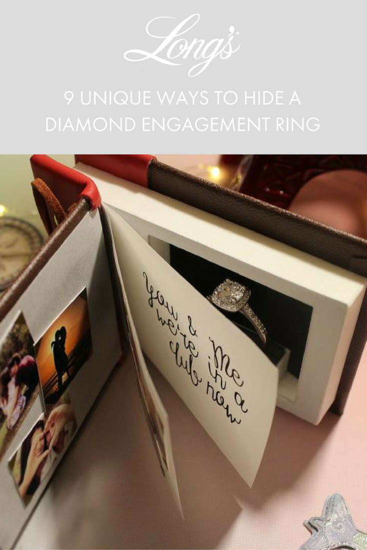 9 Unique Ways To Hide Diamond Engagement Rings Wedding Ring Box