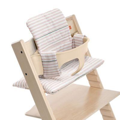 Stokke Tripp Trapp Cushion In Pink Stripes Tripp Trapp Chair Stokke Chair Cushions