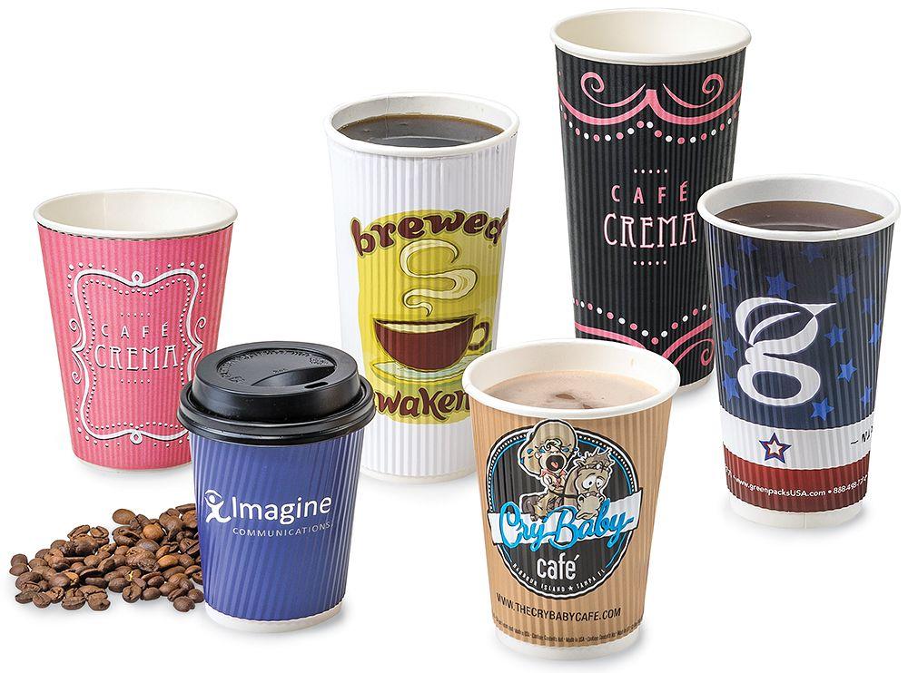 12oz Gold Handle Pastel Ombre Coffee Mug