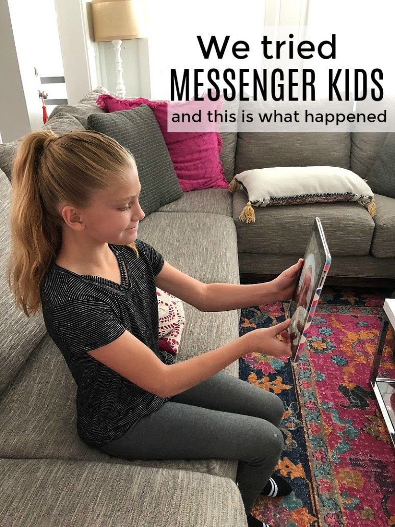 We Tried Messenger Kids And This Is What Happened Fun