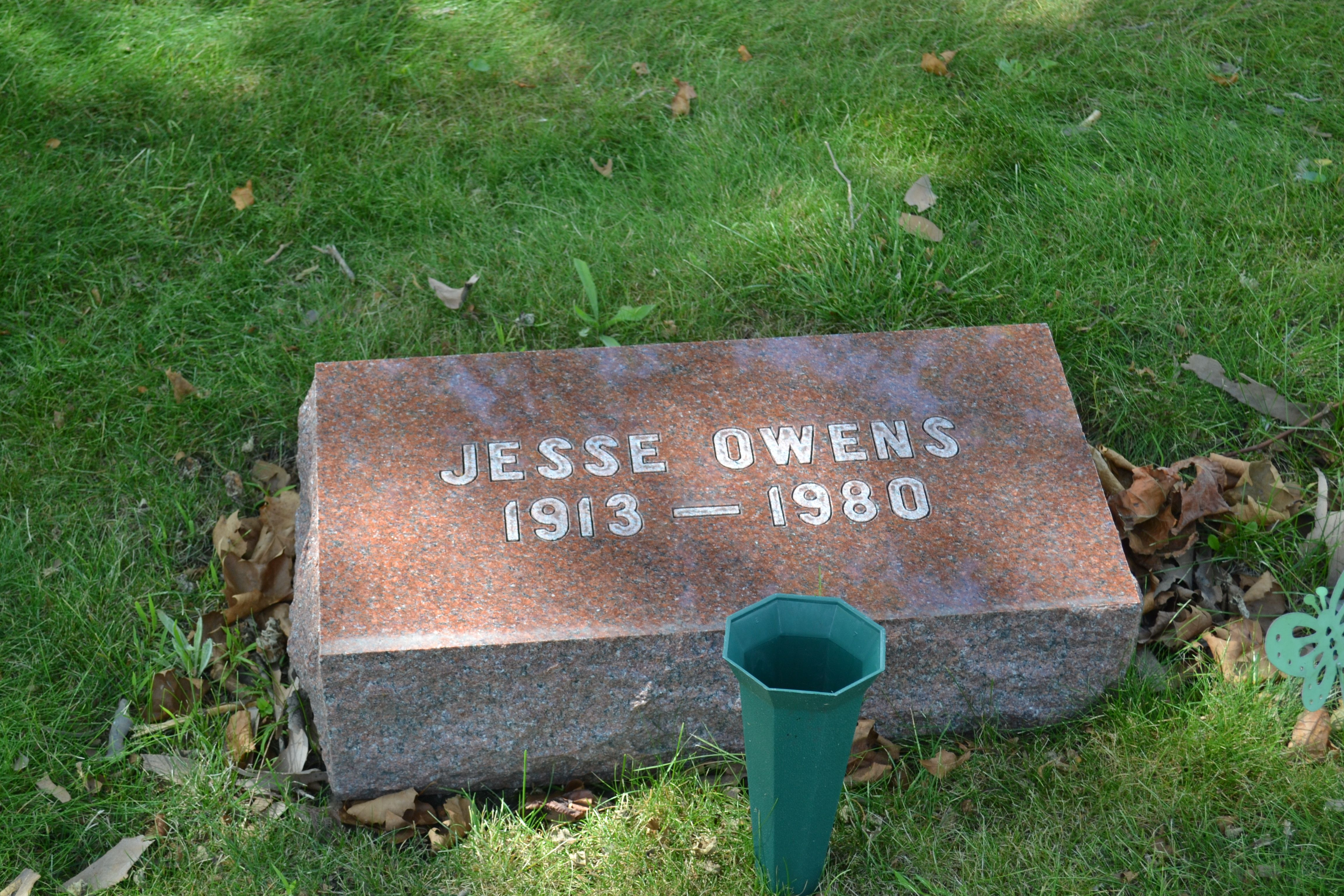 Jesse Owens Olympic Games Gold Medalist Athlete Civil Rights