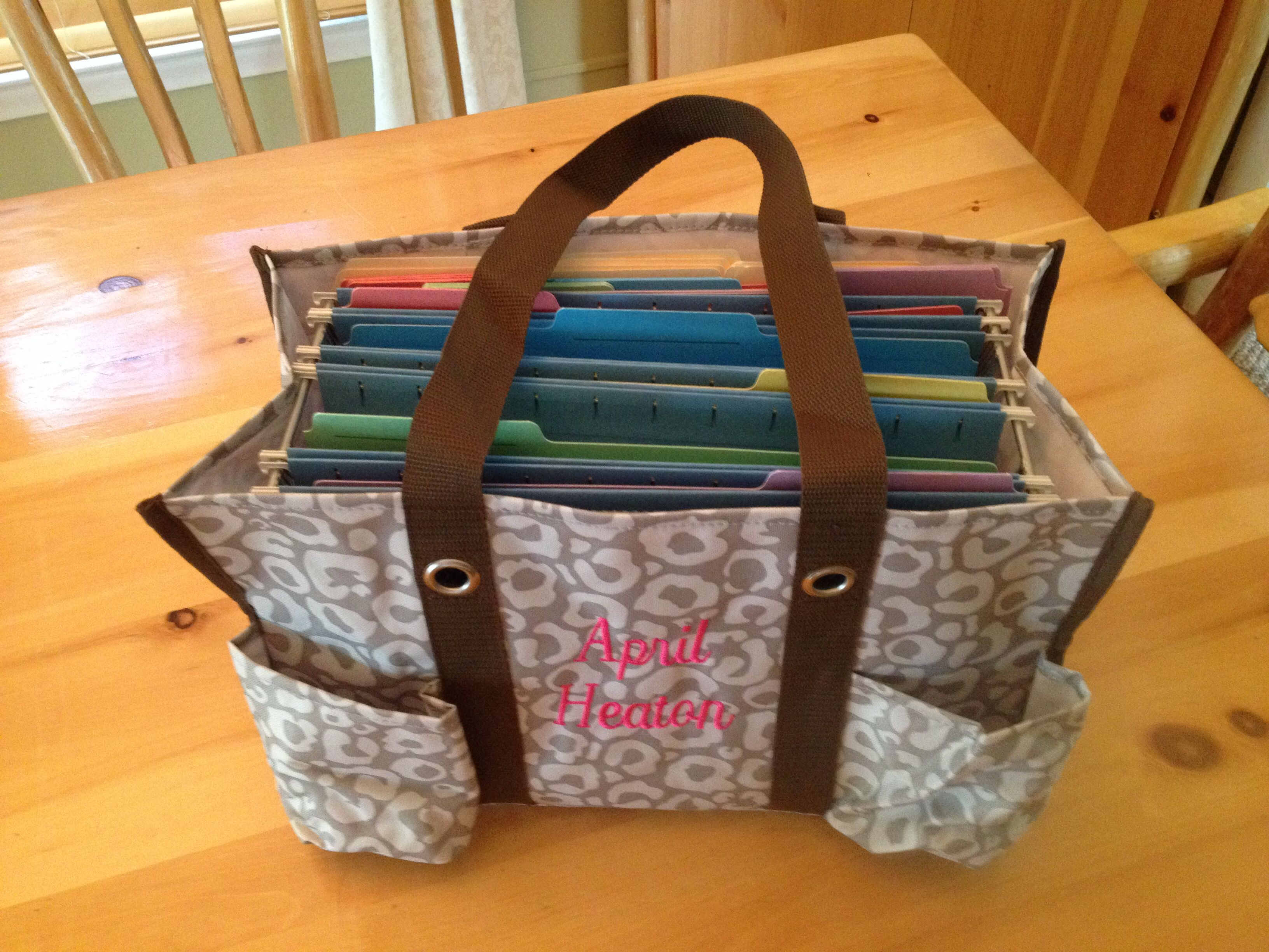 Love my new planning tote.  Thank you Pinterest and Thirty-One!!!!