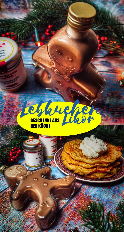 WEIHNACHTSGESCHENK // Lebkuchenlikör | Weihnachten | Pinterest ...