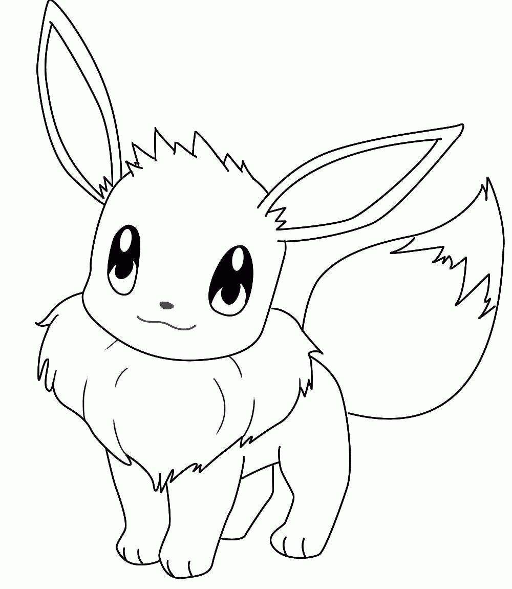 Pokemon Coloring Pages Eevee Pokemon Coloring Page Eevee Coloring Pics Coloring Home Davemelillo Com Pokemon Coloring Pages Pokemon Coloring Sheets Pokemon Coloring
