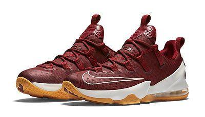 seno Ortografía Saludar  Nike Lebron XIII Low Cavs Mens 831925-610 Team Red Gum Basketball Shoes  Size 8.5 | Shoe box design, Basketball shoes, Nike lebron