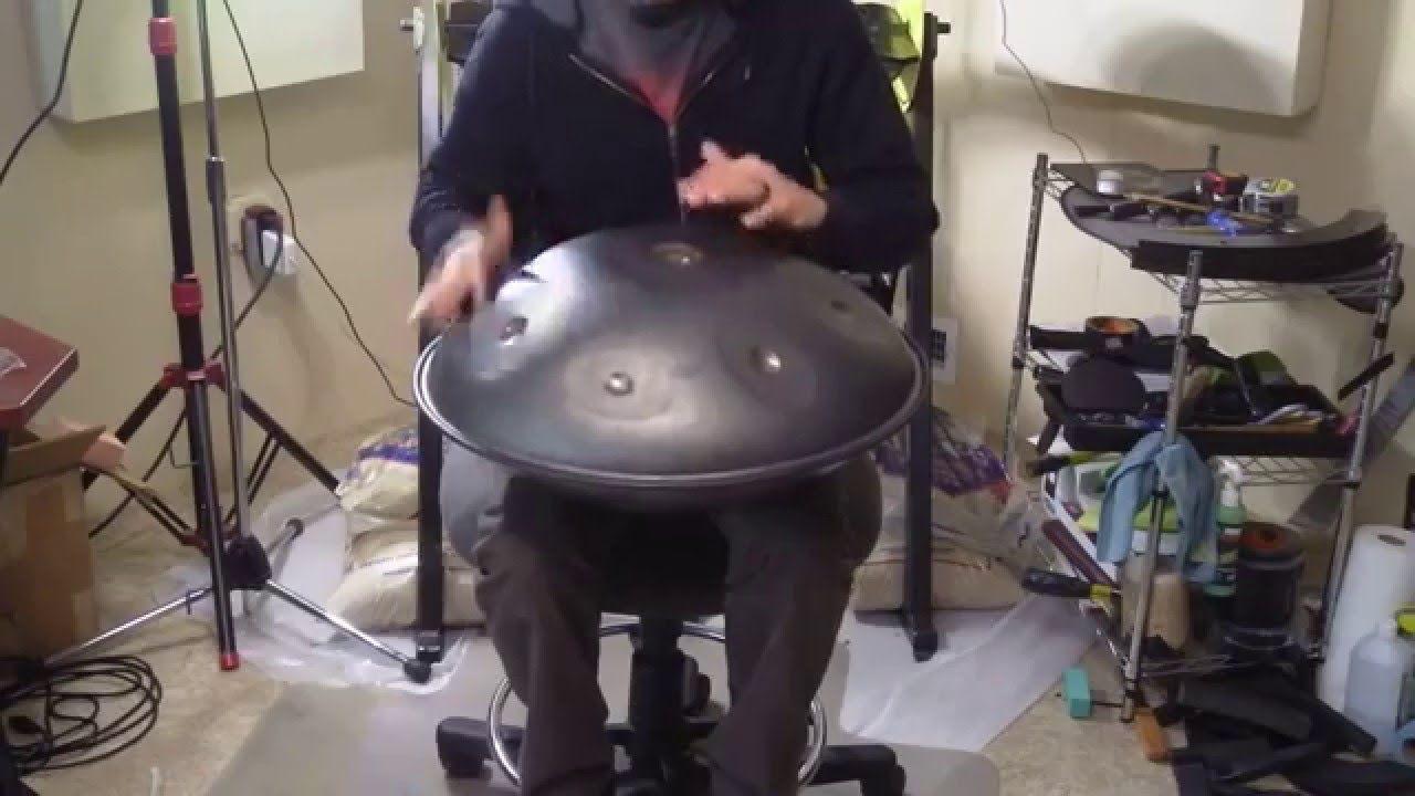 First Deep Drawn Saraz Handpan - E minor