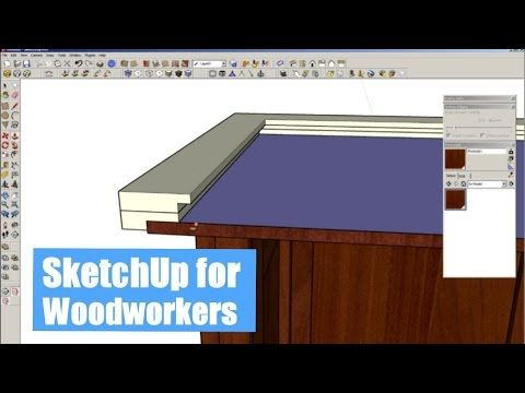 SketchUp for Woodworkers - Is It Worth Learning? - YouTube