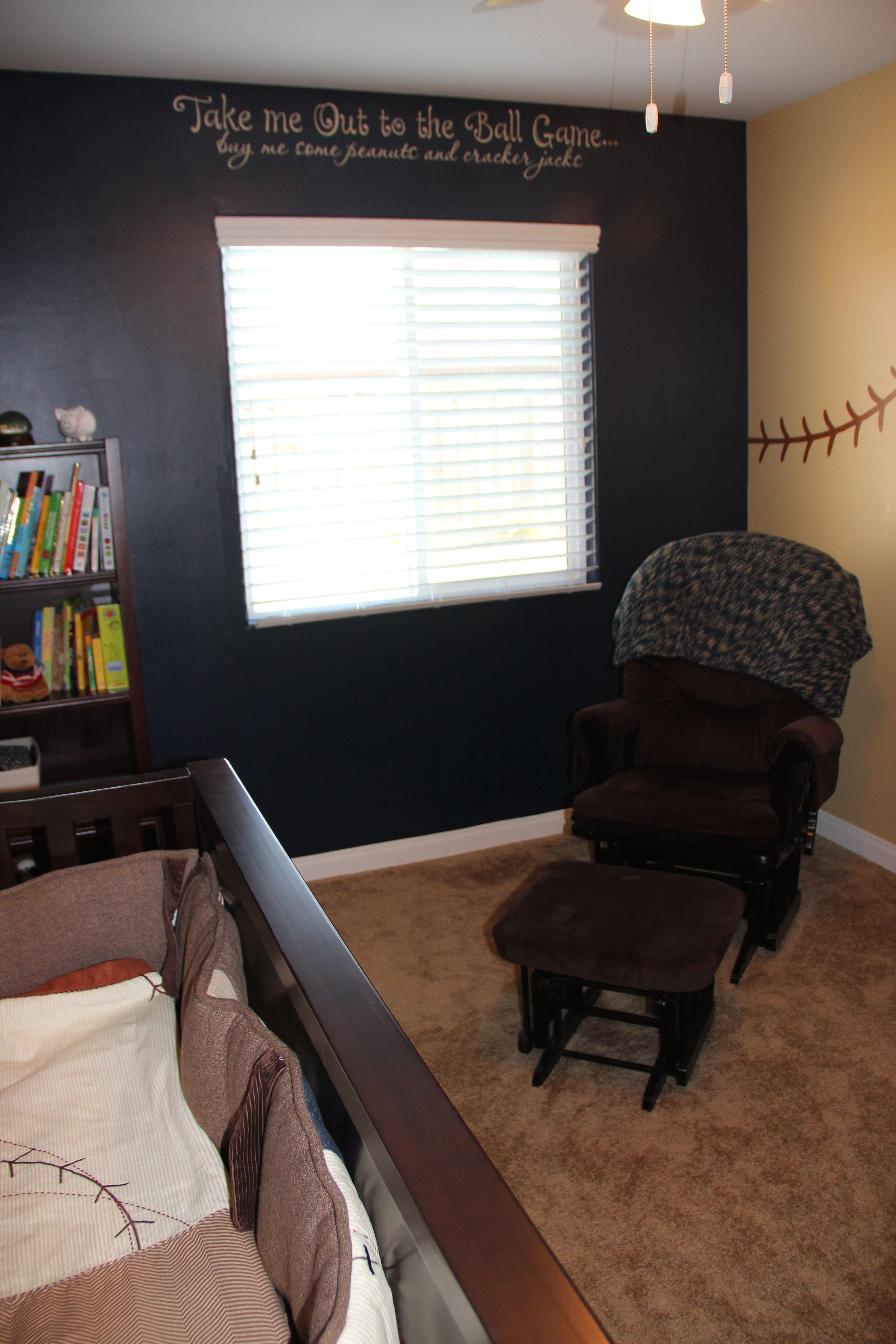 Baseball Bedroom Decal In Memory Of Dad Kids Bedroom