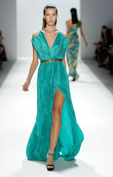 RunwaySpring Turquoise Carlos And MieleCatwalk Pinterest c3l1uTFJK