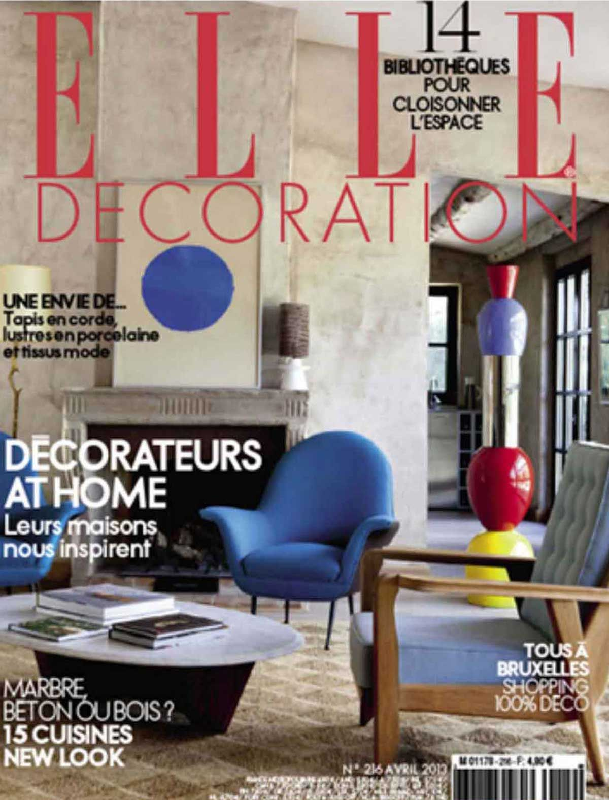 Decoration Elle Elle Deco France 01 Architectural Details Pinterest