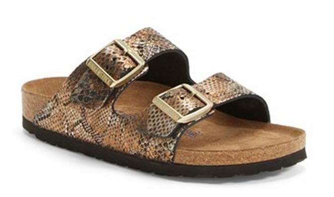 9f0bbc369e8c Birkenstock Python Bronze Sandals Snake Skin Shoes