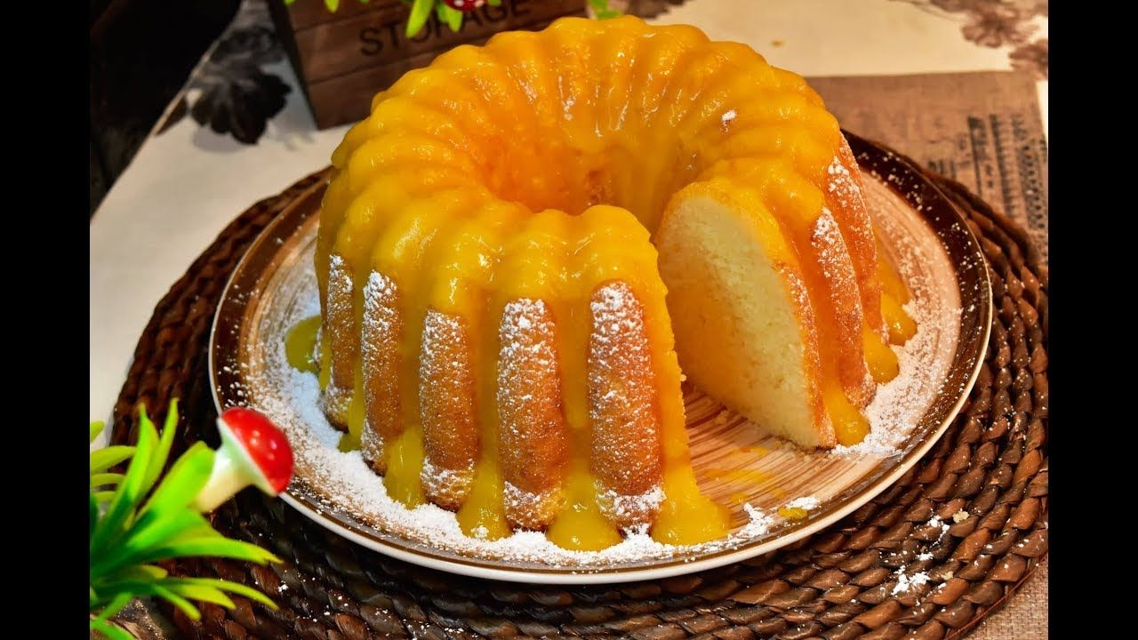 مطبخ كيكة البرتقال العملاقة بالياغورت بمذاق رائع Cookout Food Yummy Cakes Food