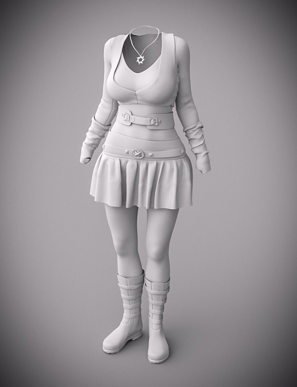 Gone Girl Outfit for Genesis 3 Female(s) | 3D Models and 3D Software