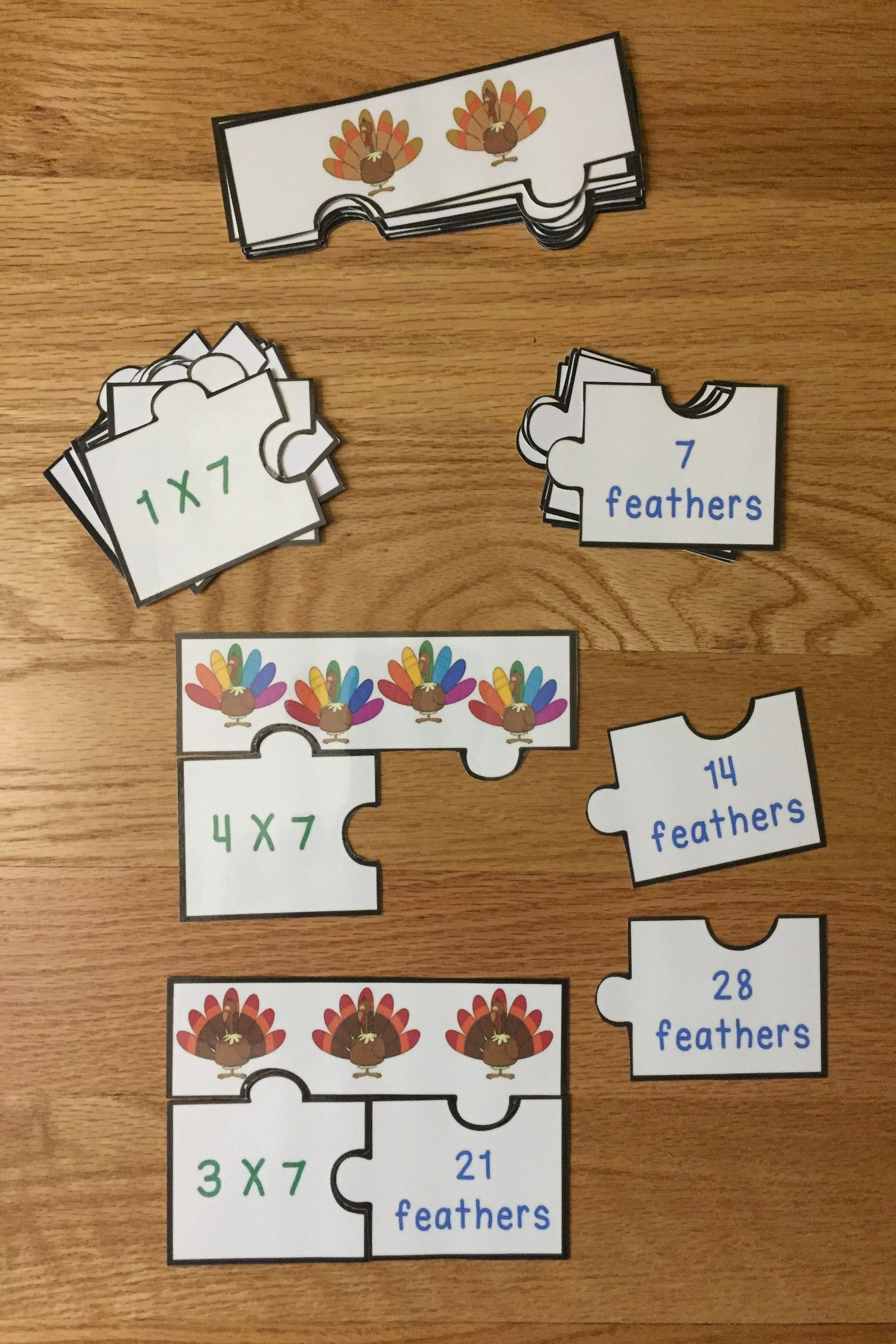 Thanksgiving Math Game Puzzles Thanksgivings