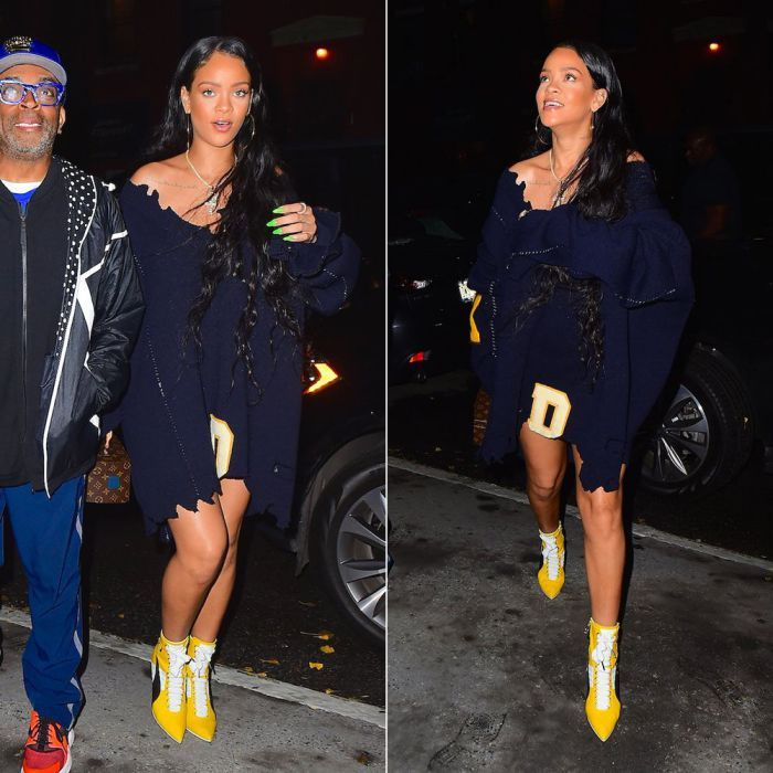 Rihanna SimonsVetements Spotted SweatersFashion Raf In 8kn0POw