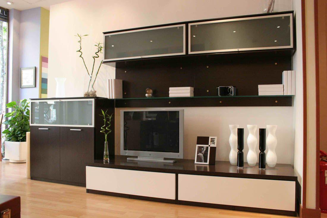 Mueble elegante y funcional para tu sal n ponle los - Tu mueble barcelona ...