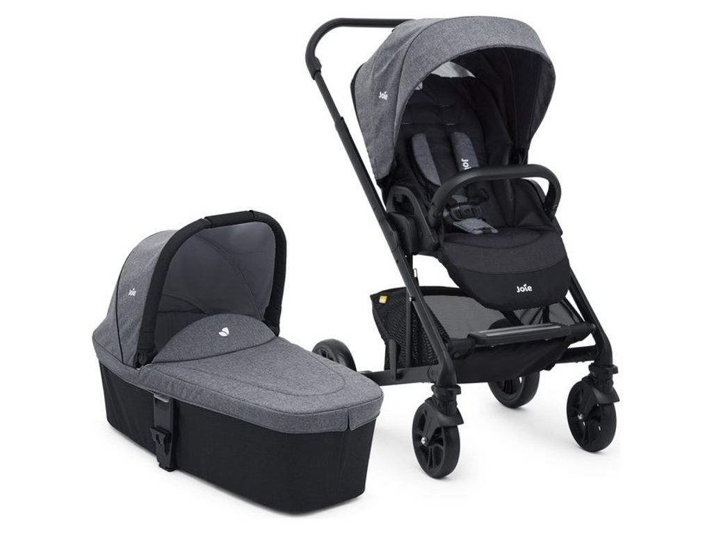 Travel System Joie Chrome Joie Chrome Basic Stroller And Carrycot In 2019 Joie