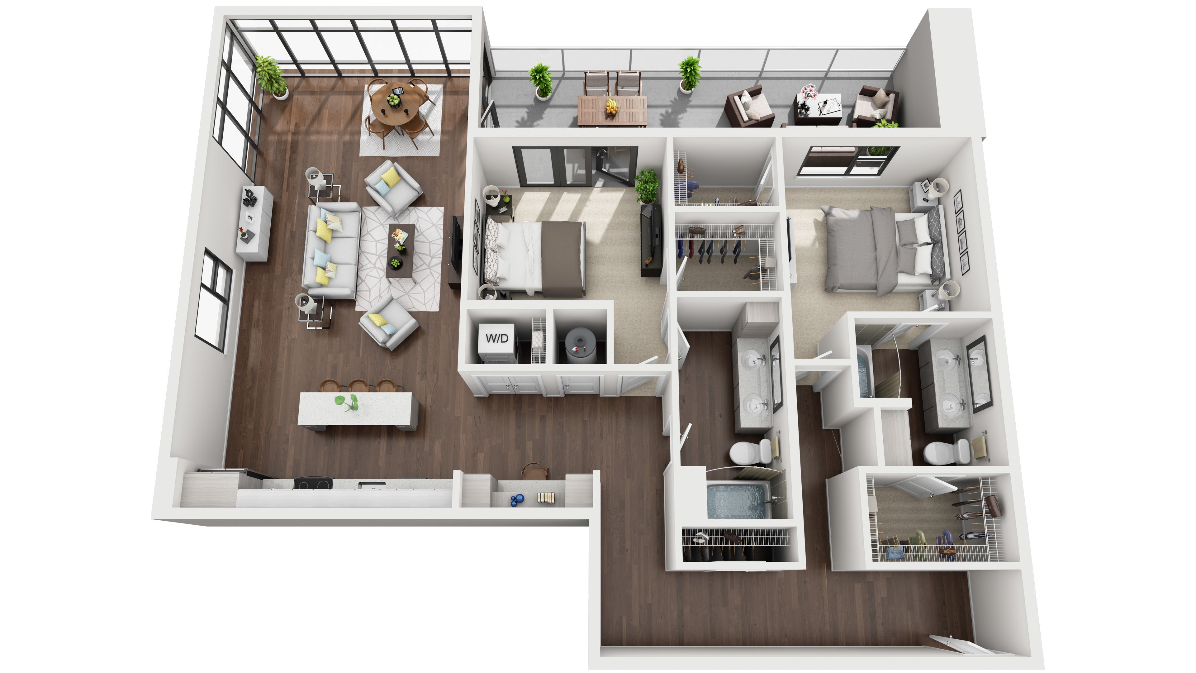 Standard 3d Floor Plans Sims House Design House Layouts Apartment Layout