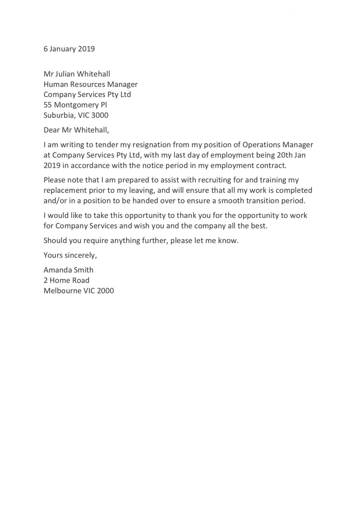 Employer Rescind Offer Letter Sample