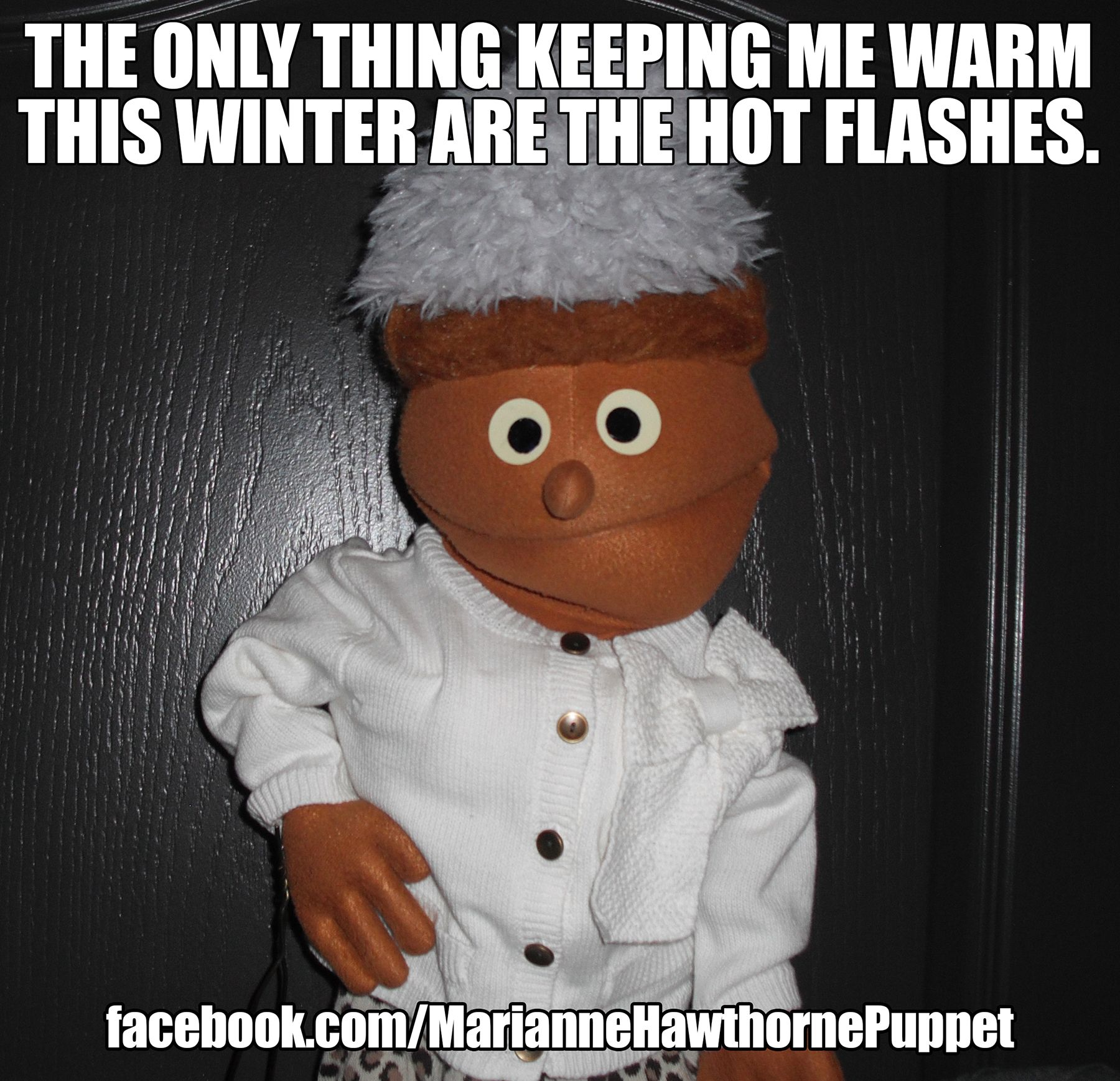 The only thing keeping me warm this winter are the hot ...