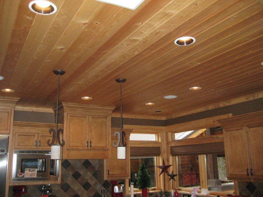 Knotty Pine Kitchen Ceiling Knotty Pine Paneling