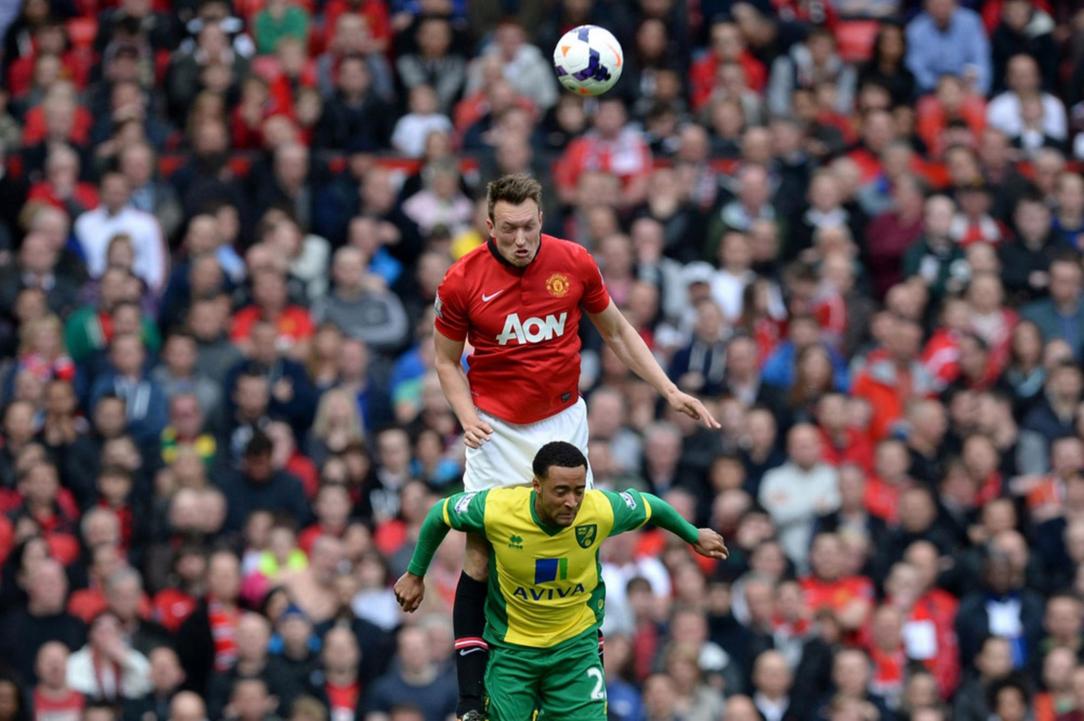 Man United 4 0 Norwich Red Devils Record Easy Win As Ryan Giggs Makes Managerial Bow Man United Phil Jones Manchester United