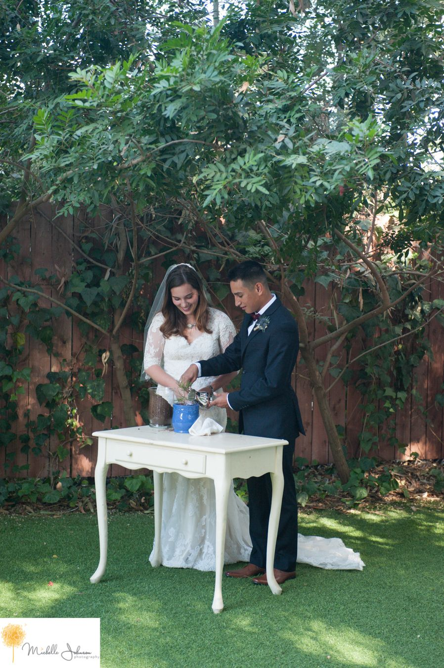 twin oak house and gardens wedding pictures tree planting at wedding ...