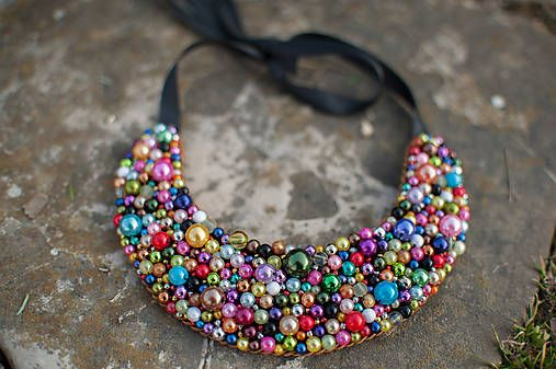 Perličky explózia farieb