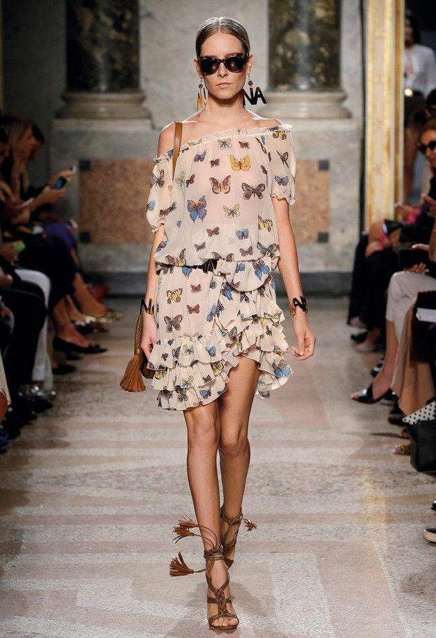 Butterfly Garden - Blugirl Spring Summer 2016 Fashion Show #mfw