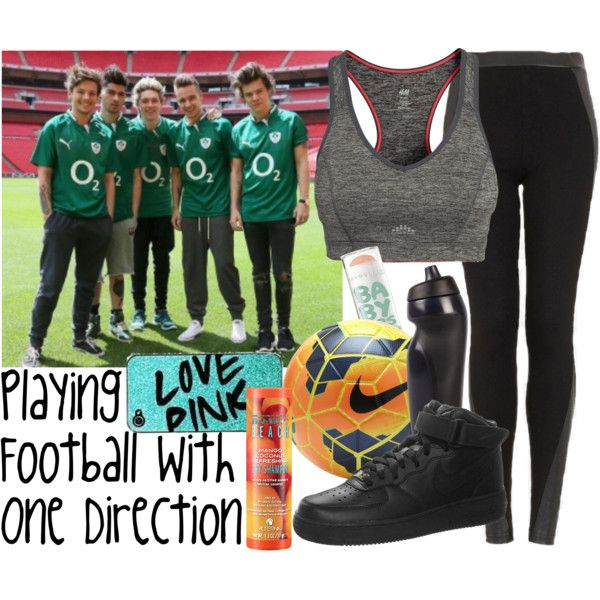 Playing Football With One Direction