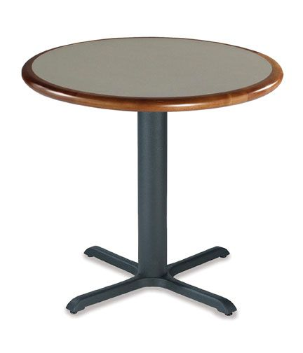 Falcon 200 Series - Café Table  Base: LIST $131 Top LIST - 30 x 24 Group C Wood Edge Grade 1 Laminate - LIST $429