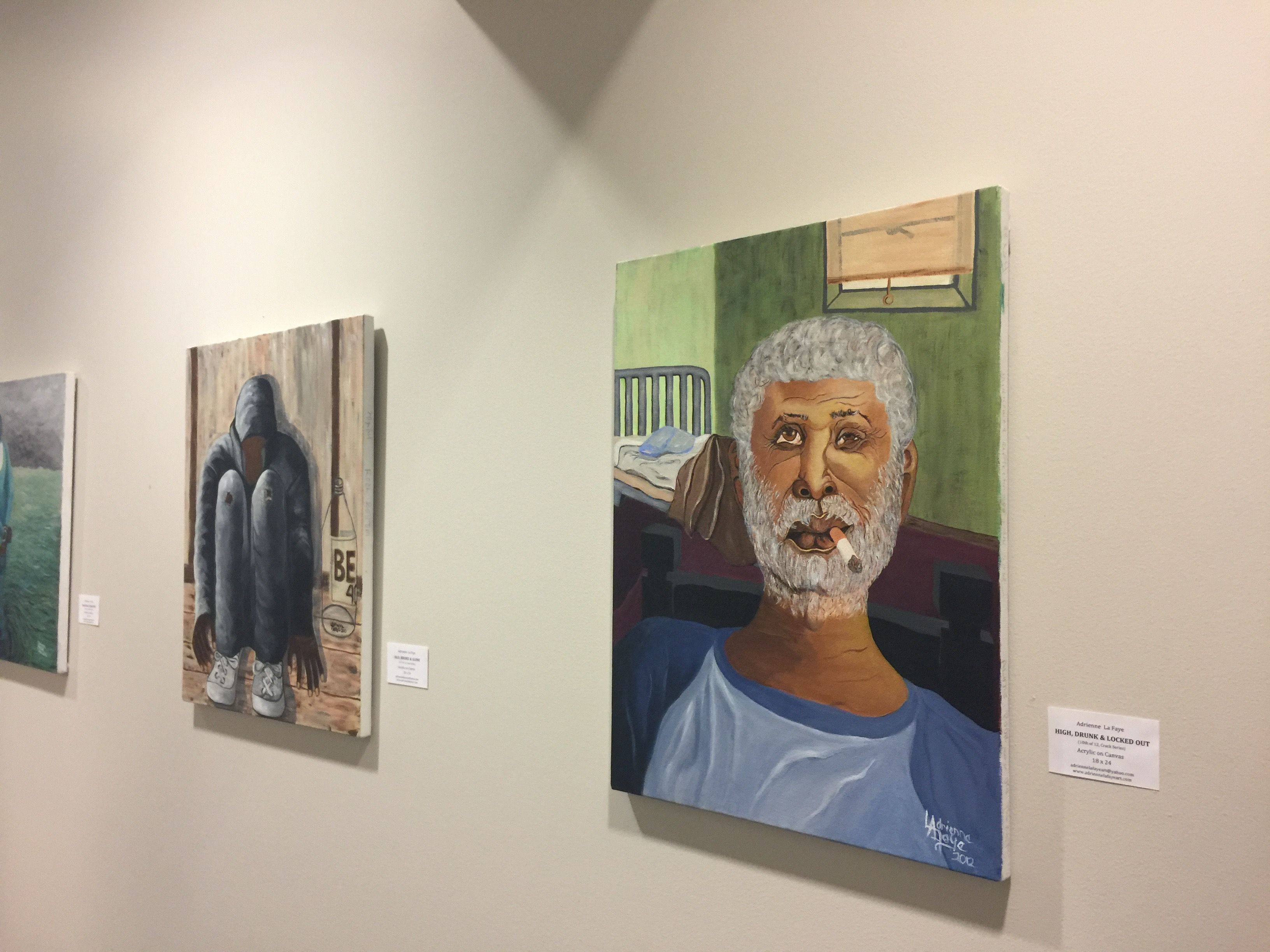 Photos Of My Solo Exhibit At The Private Gallery In The