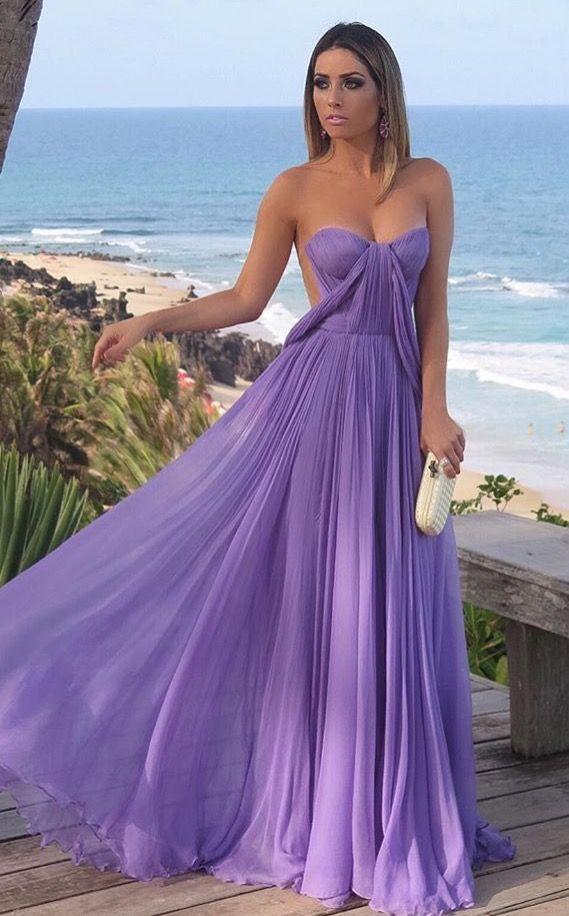 Encantador Vestido De La Dama De Honor De Color Verde Claro ...