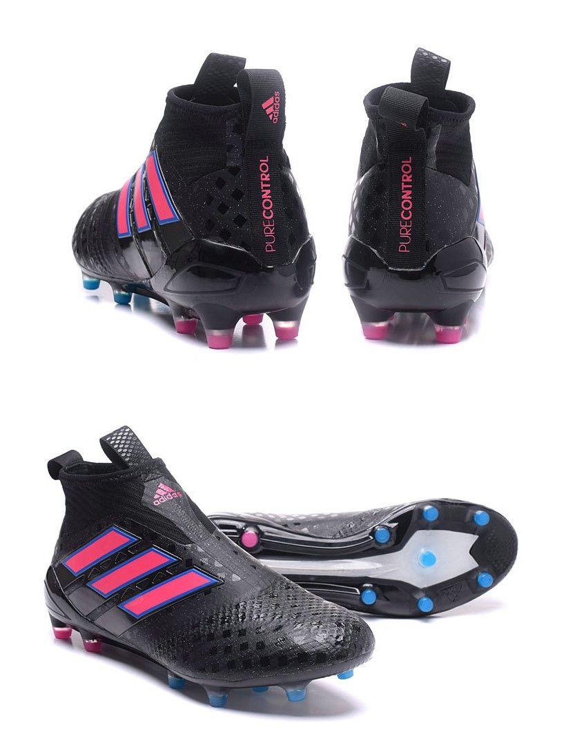 online store dd48d 8201d adidas Ace17+ Purecontrol FG Chaussures de Football - Noir ...