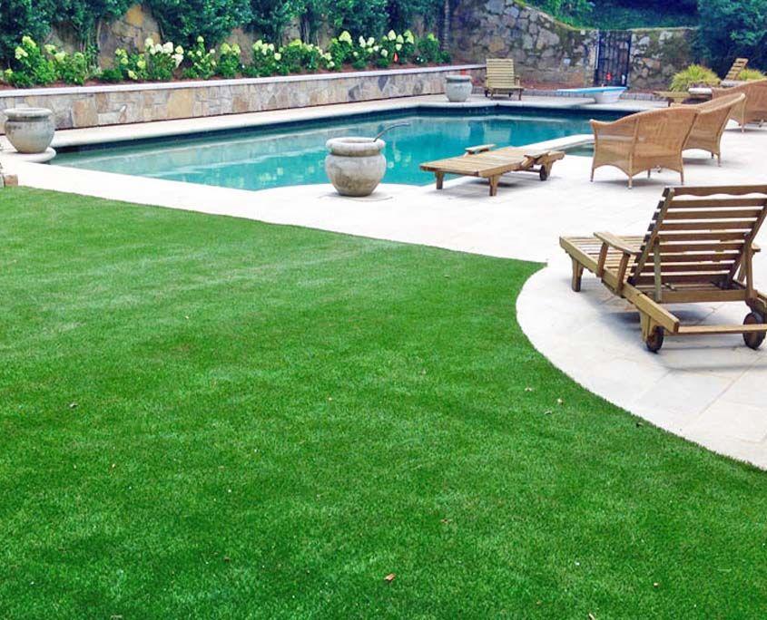Artificial lawn turf 5 artificial grass installation