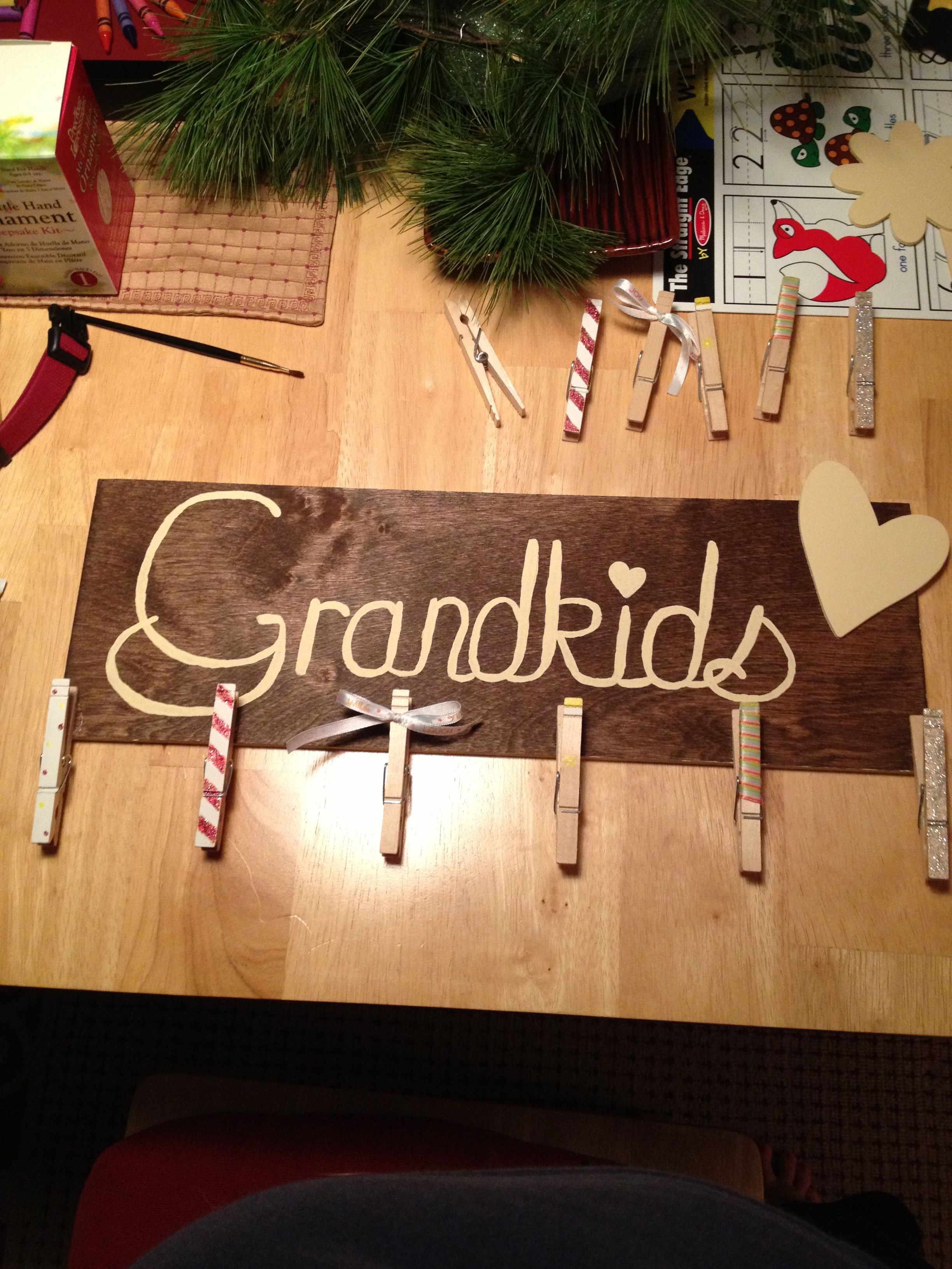 Christmas gift for the Grandparents | My creations | Pinterest ...