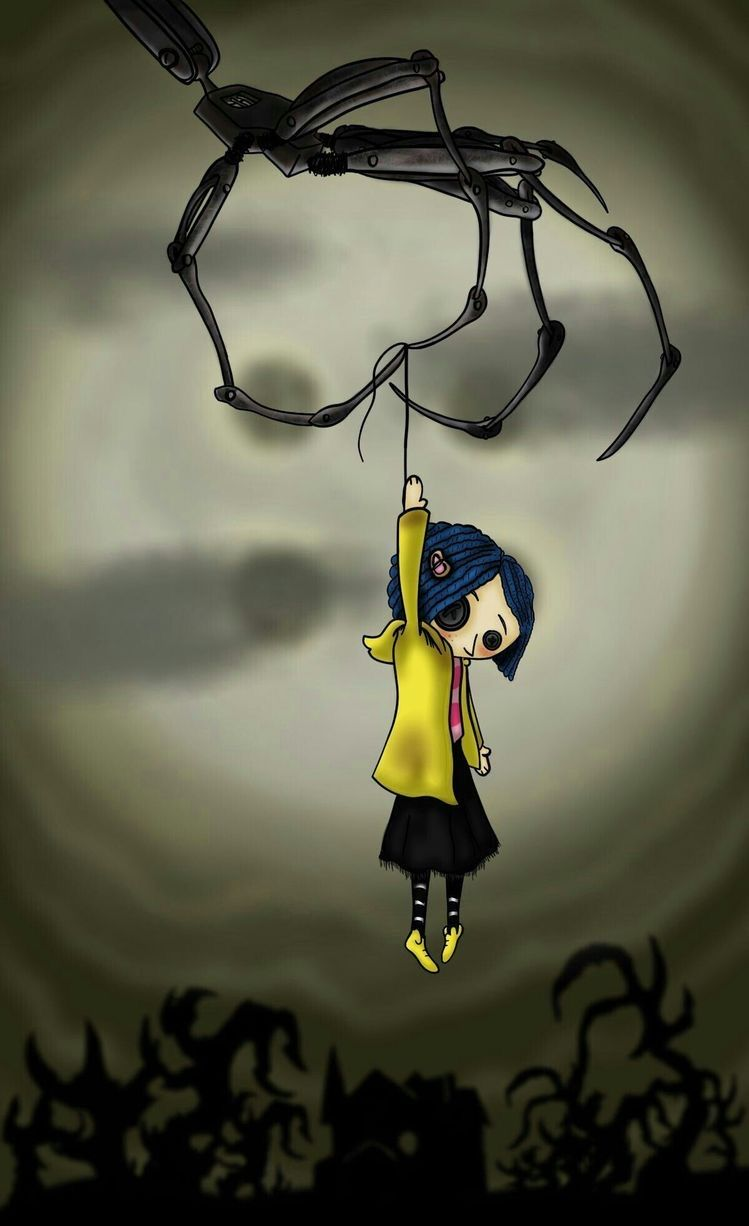 Pin By Lurrlurr On Wallpapers In 2020 Coraline Art Coraline Tattoo Coraline